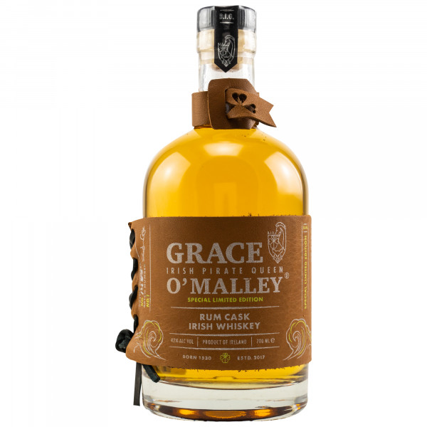 Grace O'Malley Rum Cask Whiskey