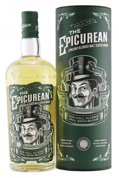 The Epicurean Lowland Blended Malt Whisky