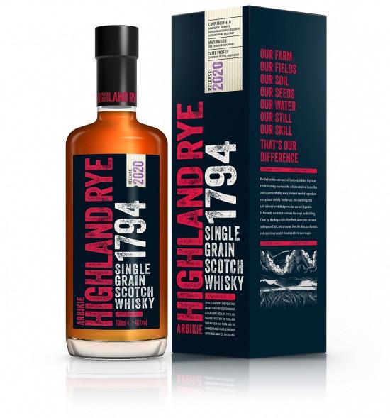 Arbikie Highland Rye 1794 Edtion 2020